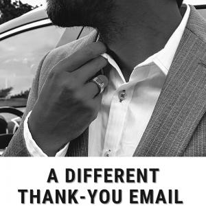 how to write thankyou email