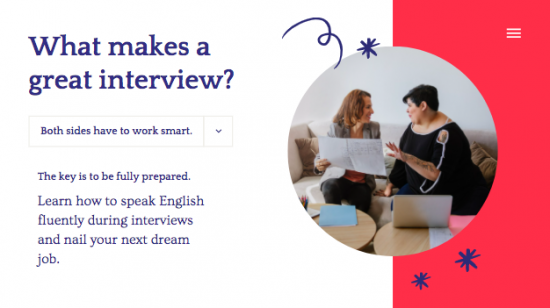 How to speak English fluently during Interviews