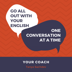 learn English with Tanya Best English coach for professionals